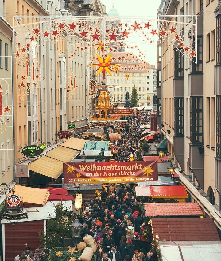 Vydejte se do Drážďan na vánoční trhy